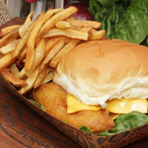 Fish Sandwich Combo