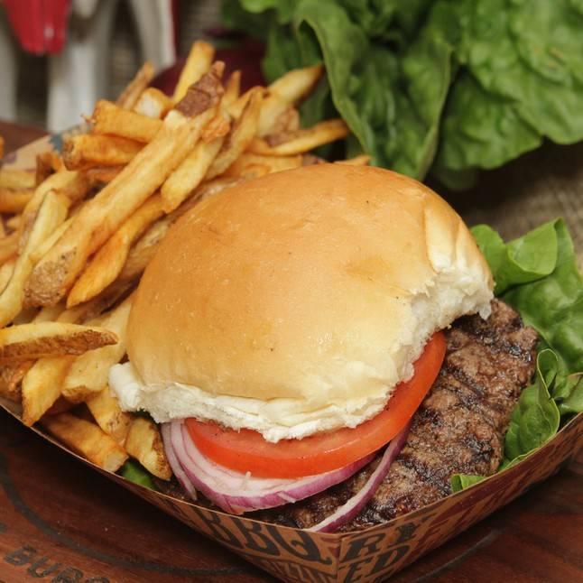 Prime Angus Burger Combo